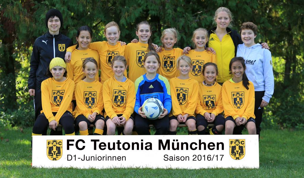 D1 Juniorinnen1617