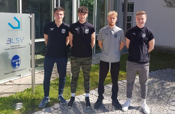 Trainerquartett erneut in Oberhaching
